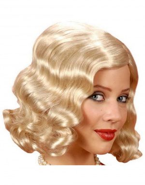 20-talls Flapper Parykk i Blond