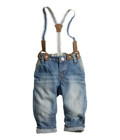 baby boy jeans with suspenders jaden 39 s outfit. Black Bedroom Furniture Sets. Home Design Ideas