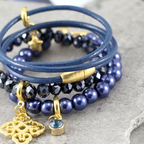Super stijlvolle sieraden met een hippe twist van onze prachtige winter collectie glas parels!