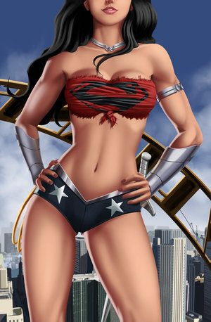 Wonder Woman Battle Worn