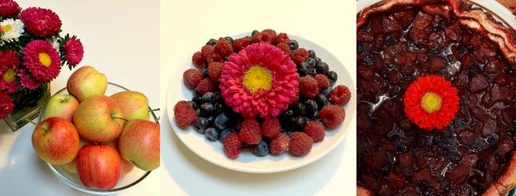 Karmelowa tarta z owocami dla zabieganych mam - Patchwork