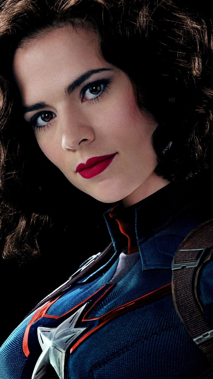 Peggy Carter, Hayley Atwell, Captain America, marvel comics, celebrity, 720x1280 wallpaper
