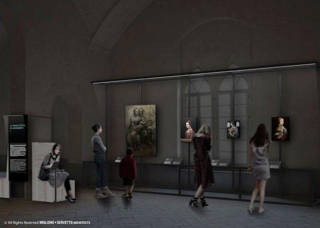 La pinacoteca di Leonardo. (Courtesy Migliore+Servetto Architects)