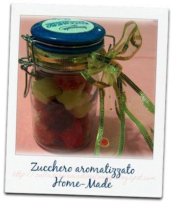 Zollette di zucchero aromatizzate: regalo home made! | Sulla scrivania di Melangy