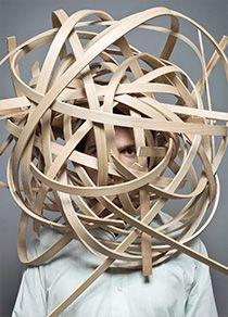 """""""Wood Loop"""", making of the Gewerbemuseumsstuhl, Winterthur, CH"""