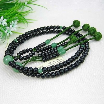 Soka #gakkai sgi juzu #japanese #buddhist nichiren ebony rosary dhl free…