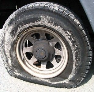 how to change your tire speech You need more tread depth in snow because your tires need to compress the snow in their grooves and release it as they roll if there isn't sufficient tread depth.