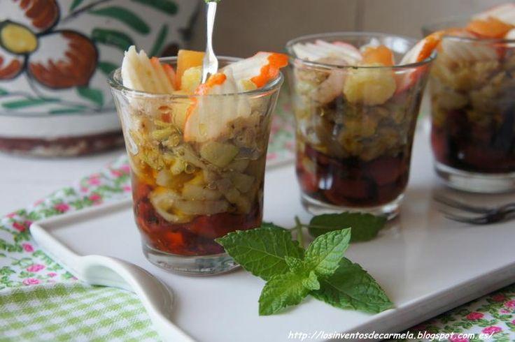 RECOPILATORIO APERITIVOS Y PEQUEÑOS BOCADOS I : VASITOS SALADOS ( 1ª PARTE ) | Cocinar en casa es facilisimo.com