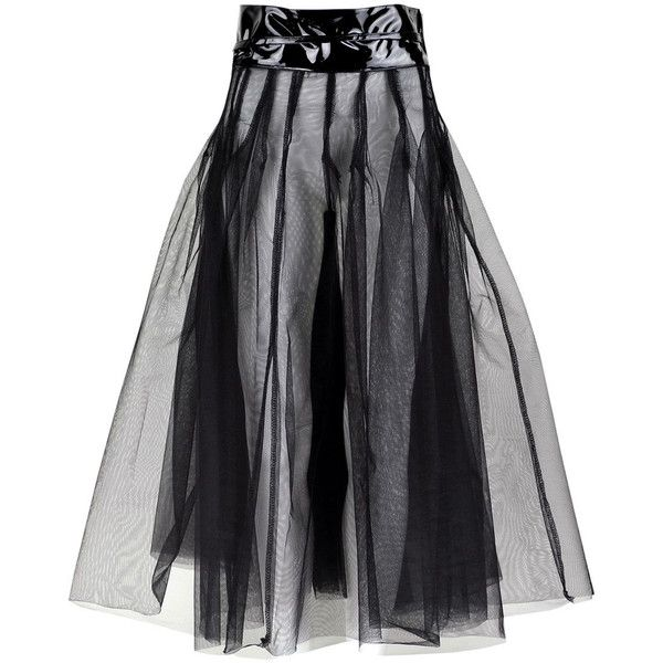 Sheer Tulle Maxi Skirt ($51) ❤ liked on Polyvore featuring skirts, halloween, tulle skirt, transparent skirt, maxi skirt, long tulle skirt and see-through skirts