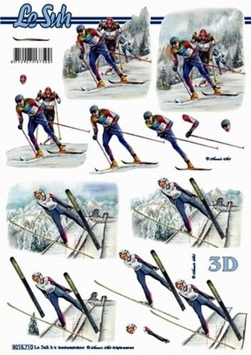 Nieuw bij Knutselparade: 0405 Le Suh knipvel wintersporten langlaufen 8215 710 https://knutselparade.nl/nl/winter/2329-0405-le-suh-knipvel-wintersporten-langlaufen-8215-710.html   Knipvellen, Sport, Winter -  Le Suh