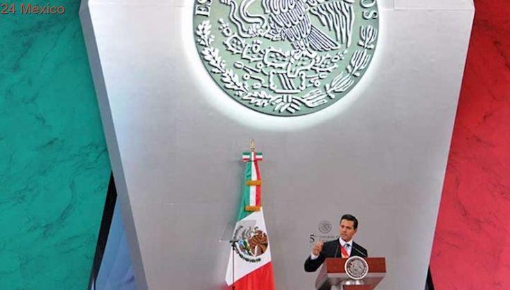 Urge EPN a Congreso aprobar Mando Único y Ley de Seguridad Interior
