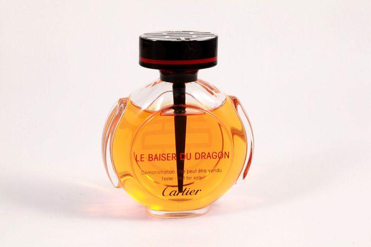 Le Baiser du Dragon EDP Eau de Parfum CARTIER Perfume 100 ml 3.3 Oz Mostly Full #Cartier