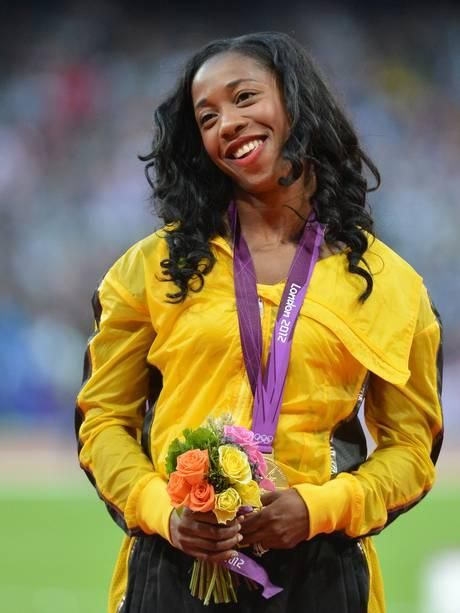 Jamaican athlete Shelly-Ann Fraser-Pryce.