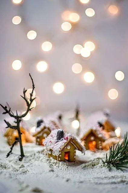 Maison de Noel en pain d'épice
