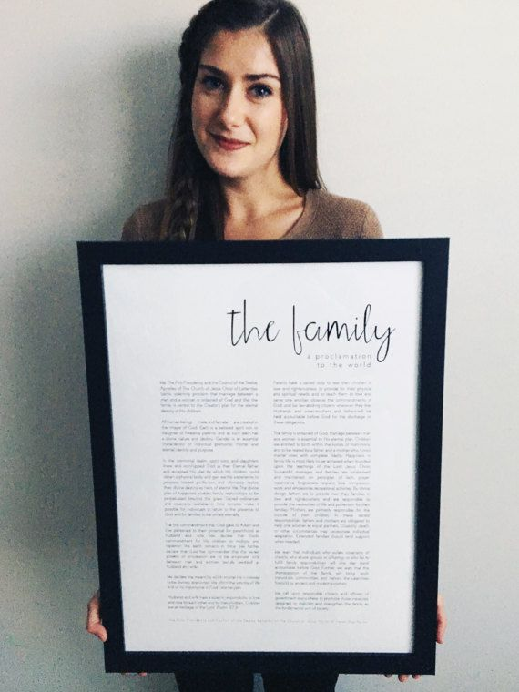 The Family: A Proclamation to the World Modern LDS by SoBleak