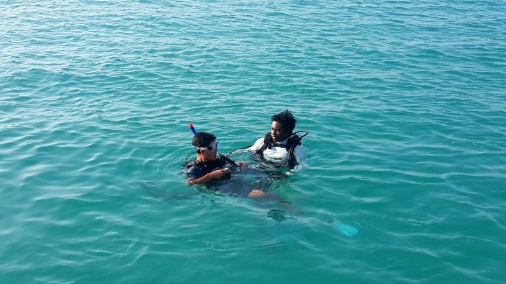 Private PADI diving course with instructor #Maldives #indianocean #travel #diving #thulusdhoo #adventure