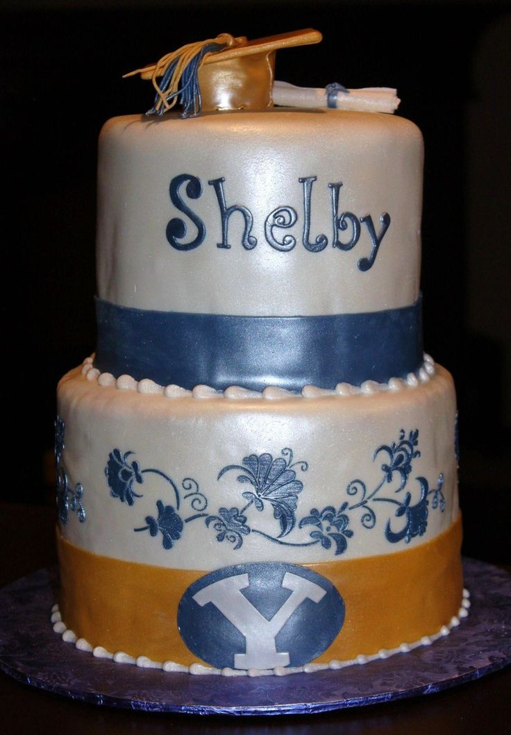 Byu Bound Graduation Cake BYU Bound Graduation Cake