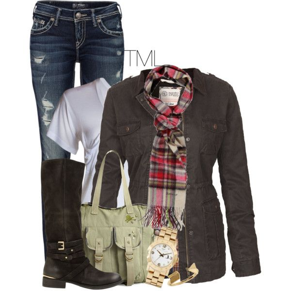 """Bonfire and Friends"" by tmlstyle on Polyvore"