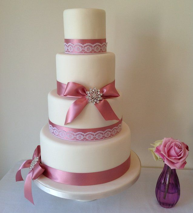 Wedding cake design for a recent wedding fayre. Cakes ...