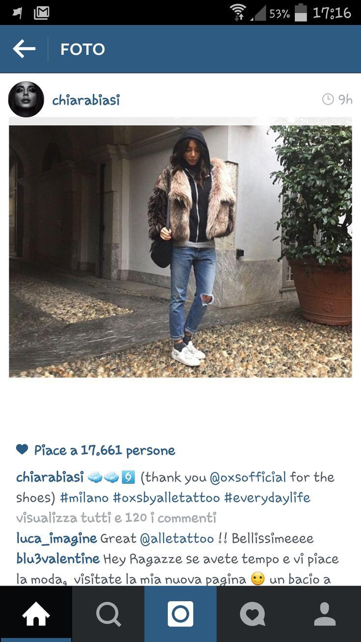 Thanks to Chiara Biasi, she dressed oxsbyalletattoo
