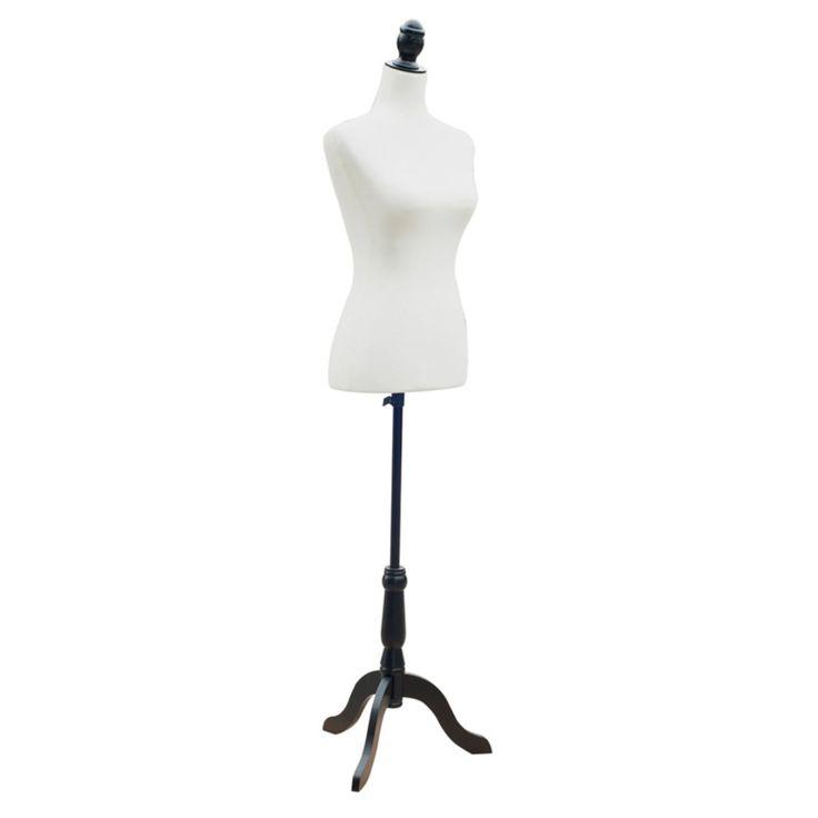 HomCom Fashion Mannequin Dressform - 611-001BK