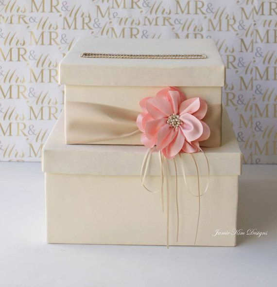 Wedding Gift Boxes Michaels : wedding card box wedding money box gift card box custom made wedding ...