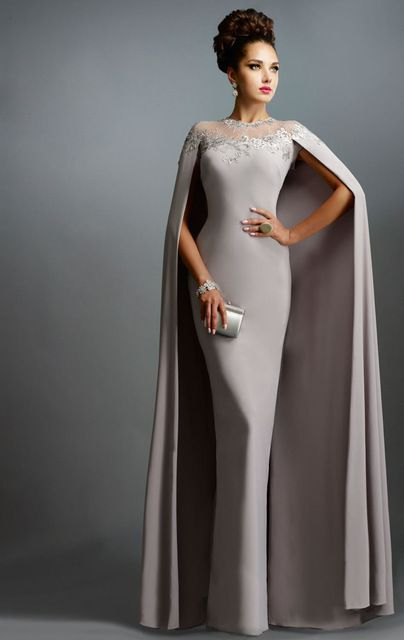 Vestido con capa de Aliexpress