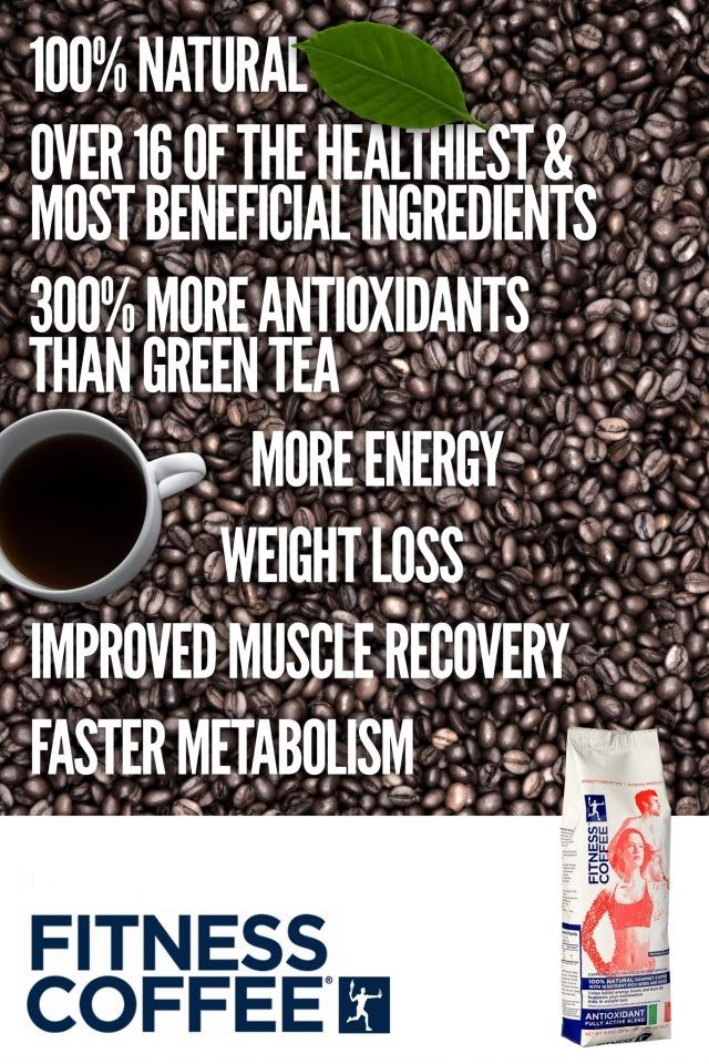 Italian Innovative Fitness Coffee. www.fitnesscoffee.com