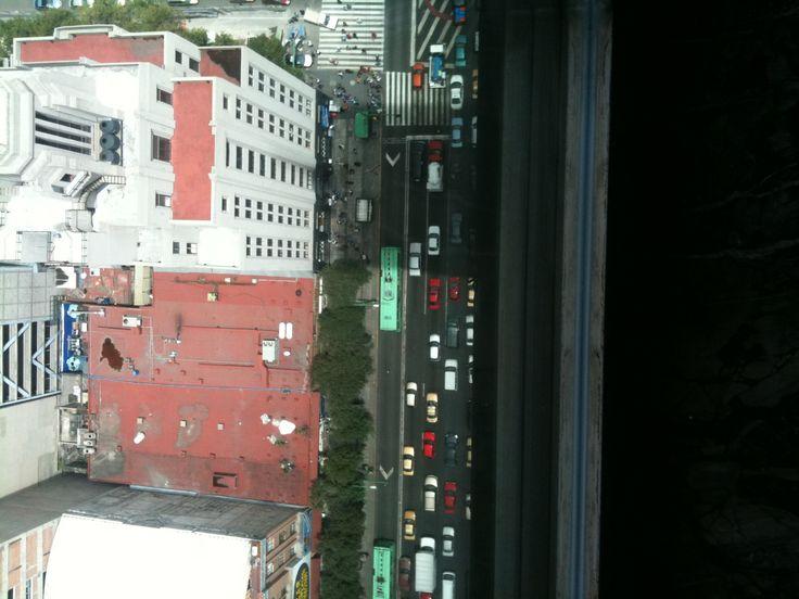 View from Mirador Torre Latinoamericana