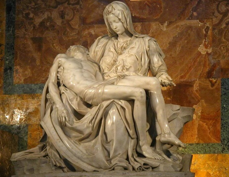 michael angelo statues in rome - photo#29
