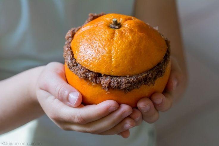 Gâteau au chocolat cuit dans une orange   Jujube en cuisine
