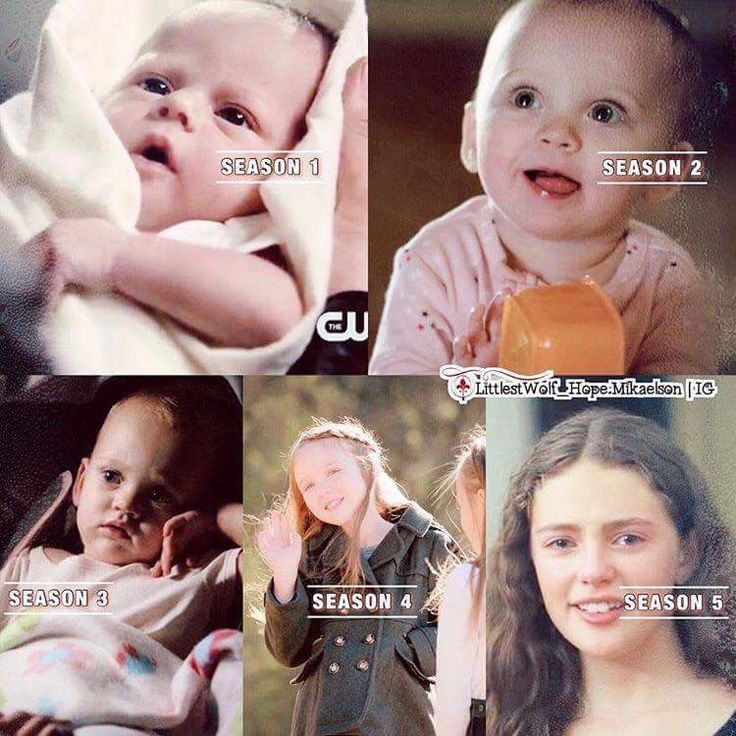Hope Mikaelson through the seasons of The Originals