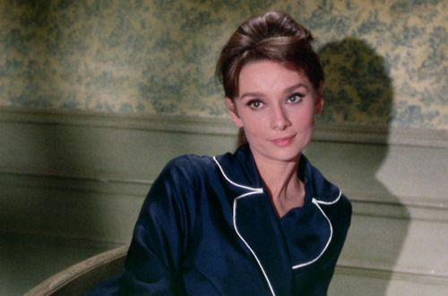I like to imagine I'm as stylish as Audrey Hepburn in my PJs: