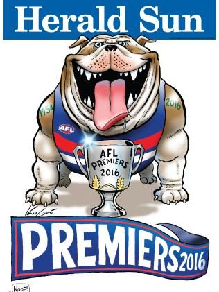 AFL Grand Final 2016: Sydney Swans and Western Bulldogs premiership poster designs | Herald Sun