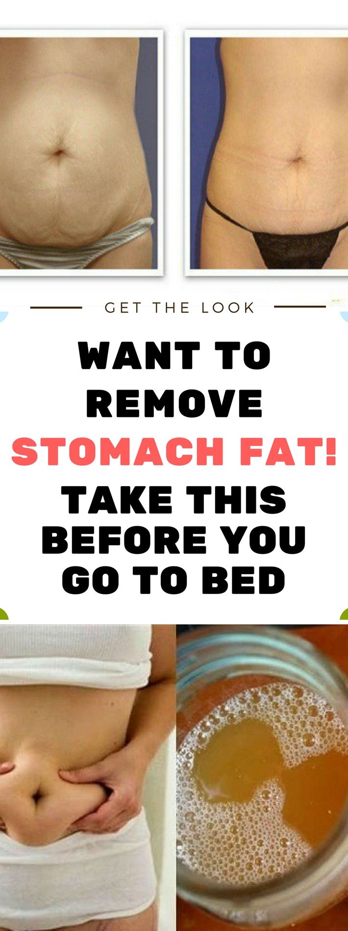 WANT TO REMOVE STOMACH FAT! -TAKE THIS BEFORE YOU GO TO BED!!! Need to know.!!! !!!