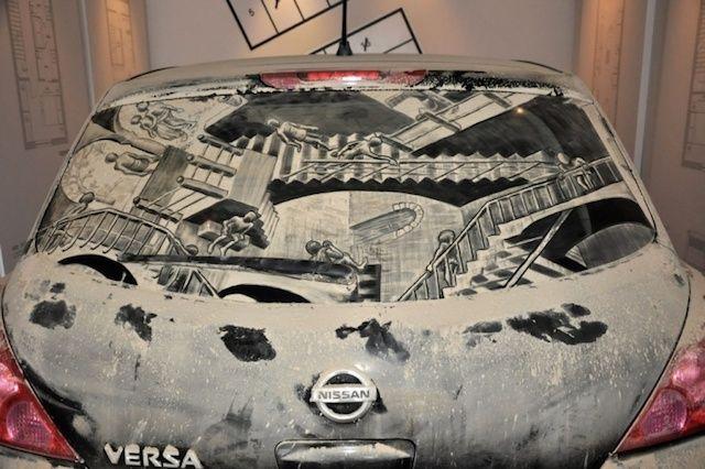 Dirty Car Drawings-9