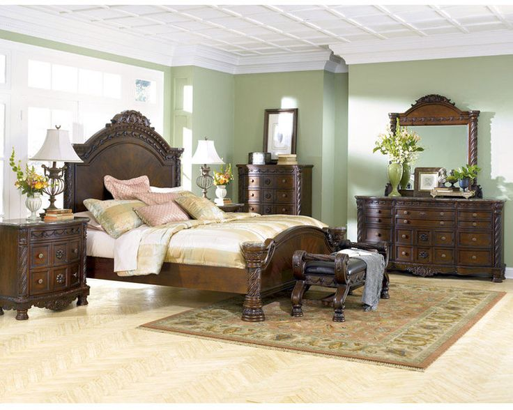 Ashley Furniture Bedroom Sets   Bedroom Furniture Discounts  ASHLEY NORTH  SHORE 6 Piece Bedroom SET. Best 25  Ashley furniture bedroom sets ideas on Pinterest