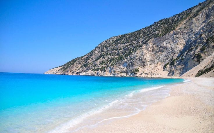 The famous Myrtos beach is well known as the best wedding venue for a beach wedding in Kefalonia island.