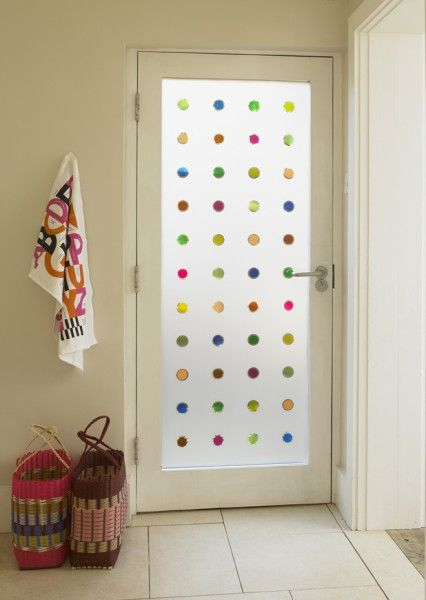 Coloured Mini Portholes , Kitchens & Frosted & Decorative Window Film from  Brume Ltd