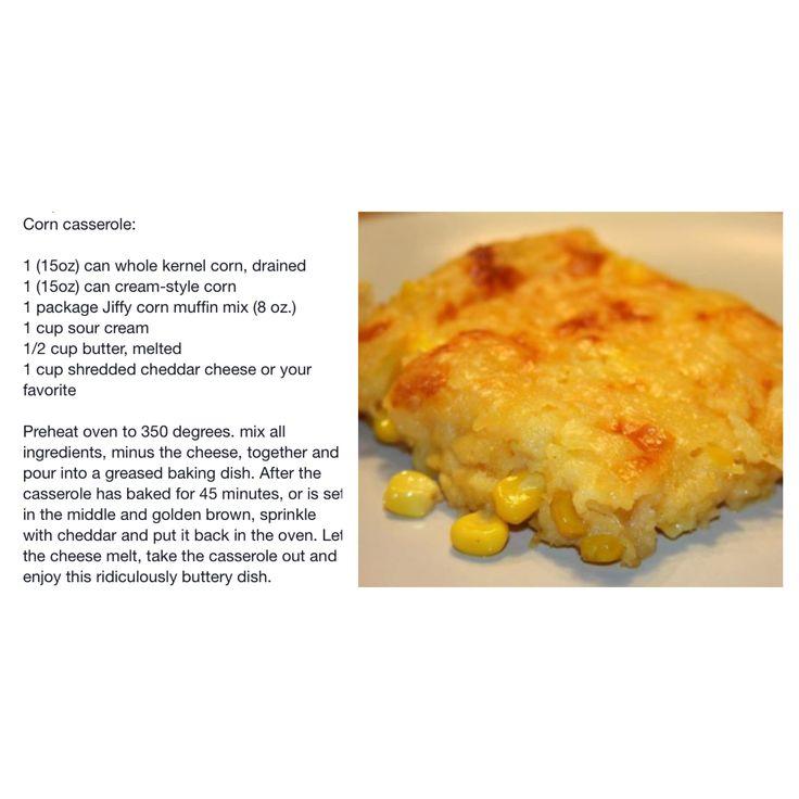 recipe: corn casserole with cream cheese and sour cream [35]