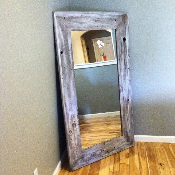 Reclaimed Wood Mirror, Rustic Home Decor, Mirror, Reclaimed Wood, Floor  Mirror, Full Length Mirror, Reclaimed Wood Mirror, Wood Mirror - Best 25+ Reclaimed Wood Mirror Ideas Only On Pinterest Pallet