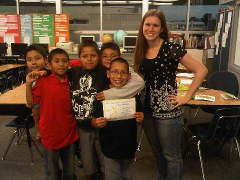 Our readers from Esther L. Walter Elementary