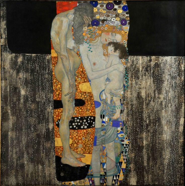 Gustav Klimt, Le tre età, 1905