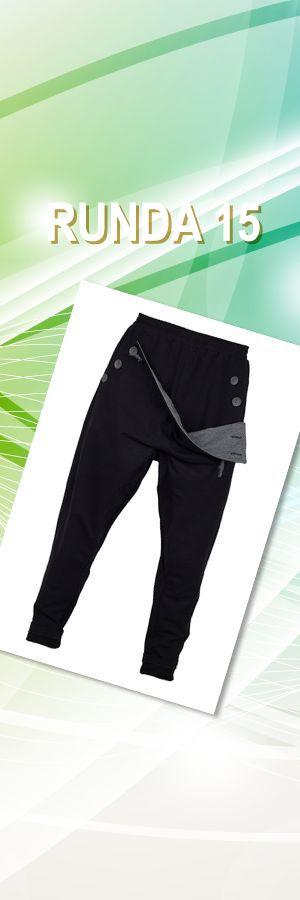 Spodnie madoxy dresowe czarno - szare, rozmiar: S, M, L, XL; Projektant: MADOX design; Wartość: 280 zł. Poczucie piękna: bezcenne. Powyższy materiał nie stanowi oferty handlowej.
