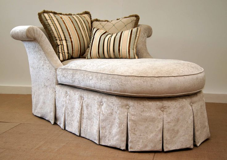 The Skirted Chaise