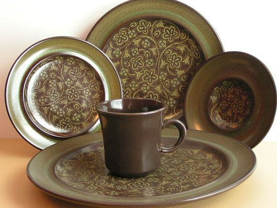 Franciscan Madeira Place Setting by PennyPickers on Etsy, $30.00