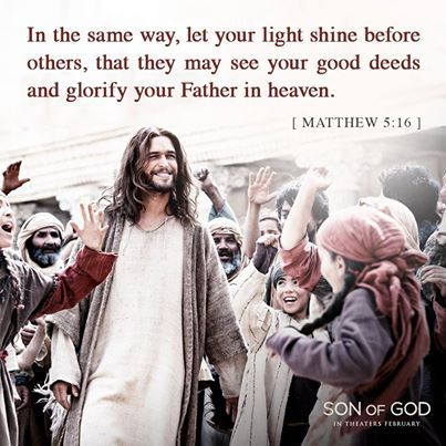 God so loved the world that He gave his one and only Son. Experience the Son of God movie, in theaters February 28 ~ sonofgodmovie.com