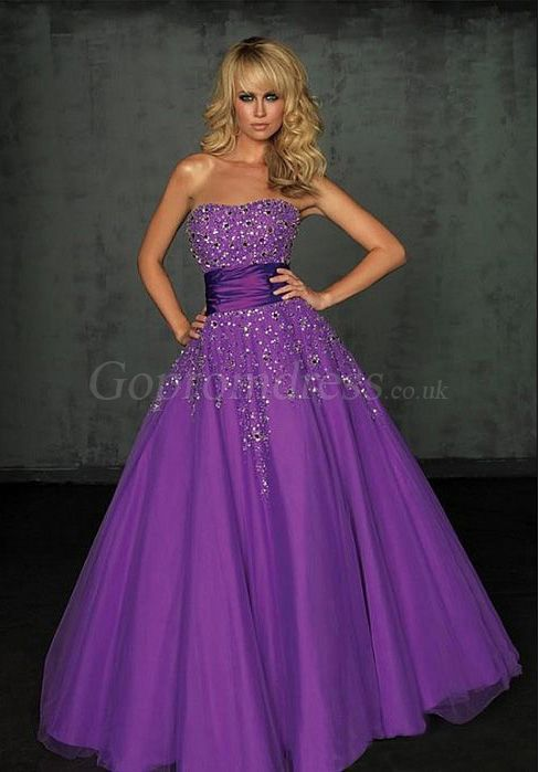 25  best ideas about Long purple dress on Pinterest | Violet prom ...