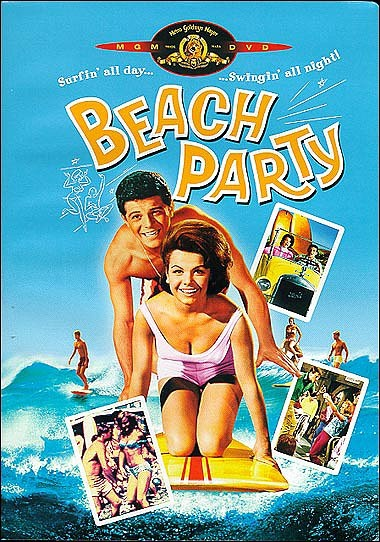 Beach Party, 1963: Annette became a teen idol in the 60s, starring in a series of beach party movies with Frankie Avalon beginning with Beach Party in 1963. Others included Muscle Beach Party, Bikini Beach, Pajama Party, Beach Blanket Bingo, and How to Stuff a Wild Bikini.