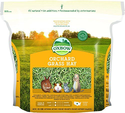 No matter what kind of super spiffy pet products you need, we've got you covered.  Here we have: orchard grass hay, prefect for your little rabbit or guinea pig buddy.